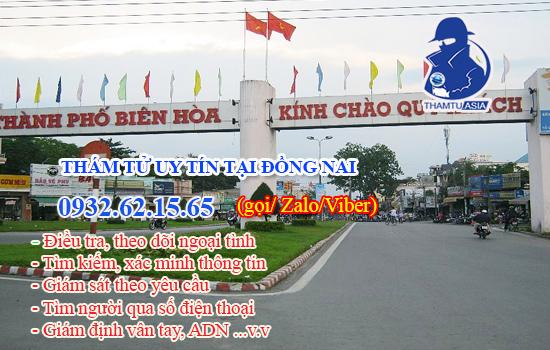 Công ty thám tử chuyên nghiệp tại Biên Hòa - Đồng Nai