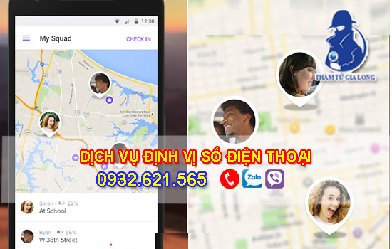 Dịch vụ định vị số điện thoại, xác đinh vị trí số điện thoại tại Pleiku – Gia Lai