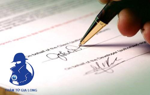 Dịch vụ thám tử giám định chữ viết, chữ kí